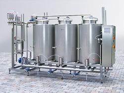 Semi-Automatic By Products Equipment & Systems, Capacity: 2500 litres/hr, for Cheese