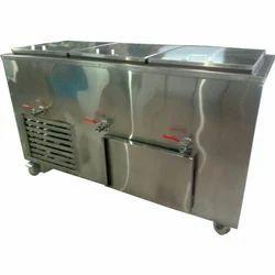 DE Milk Freezer, Number of Basket: 3 (each 100 L Capacity), 1336 X 600 X 865 Mm