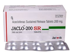 Aceclofenac 200 mg SR Tab