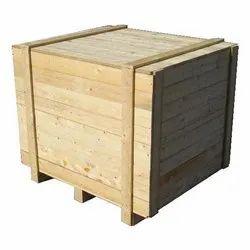 Wooden Packaging Box, Capacity: 100-150 kg