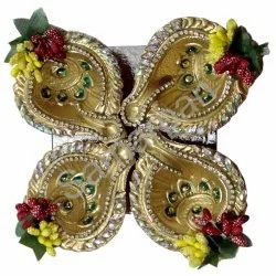 Golden Stone Diya 7092004891183