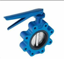 Lug Type Butterfly Valve - CI - Lever Operated