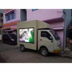 K Shine Van LED Video Wall Rental Services, Pan India