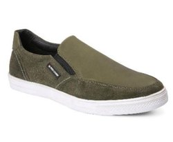 Red Chief Green Slip-On Mens Casual Shoes