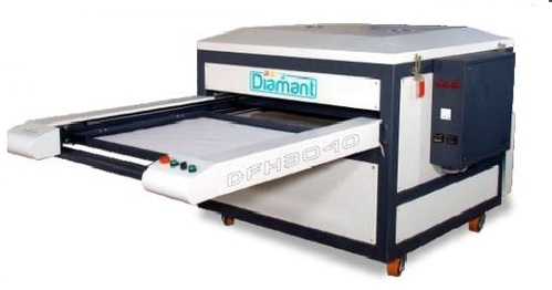Double Bed Pneumatic Flat Heat Press Machine