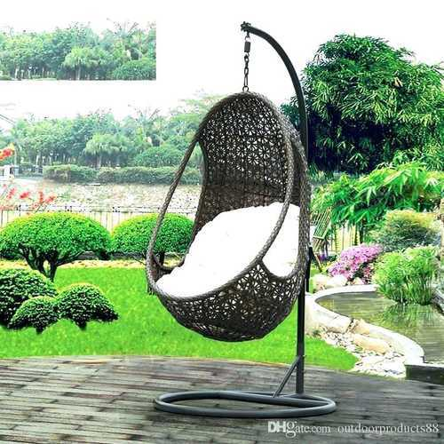 12e99b30d Iron Outdoor Patio Swing Chair