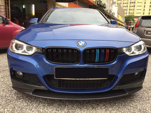 Dealkarde Bmw 3 Series F30 M3 Dual Bar M Colour Front Grill Rs 9999