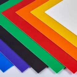 Multicolor HIPS Sheet, Thickness: 0.25 mm upto 5 mm