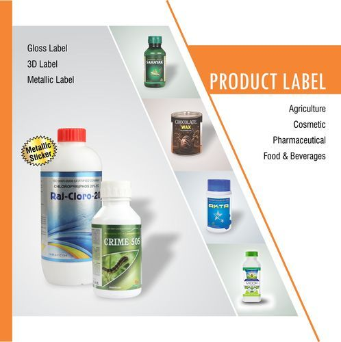 Metallic label printing services