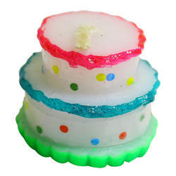 Paraffin Wax Cake Shaped Candle