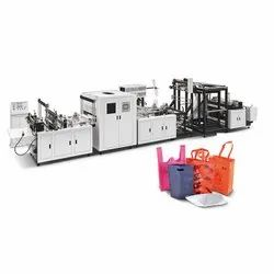 700-Fully Automatic Non Woven Box-Cut,D-Cut &W-Cut Making Machine