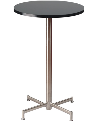 One Step Furniture Black,Silver Stylish Bar Table
