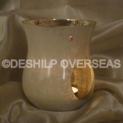 Silver Etching Aroma Oil Burner