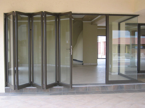 Wooden Glass Sliding Folding Door Rs 310 Square Feet Rachna