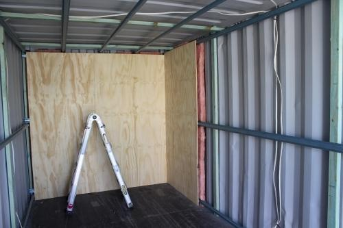 Galvanized Steel Insulate Shipping Container Rs 145000