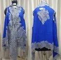 Merino Wool Designer Lace Poncho