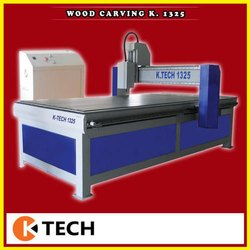 Fully Automatic 3D Wood Carving Machine