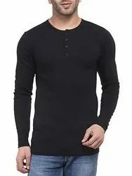 Henley Full Sleeve T Shirt