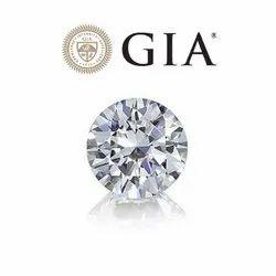 Real Round GIA Certiifed Diamond