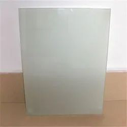 Transparent Frosted Acid Etched Glass