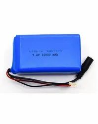 3.7 V 1S2P 10000 mAh Lithium Polymer Battery Pack