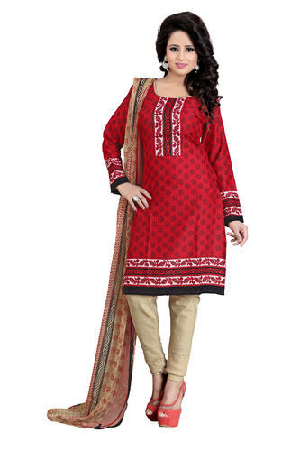 50eb6660e8 Printed Cotton Salwar Suit Dress Material at Rs 250 /piece | Printed ...
