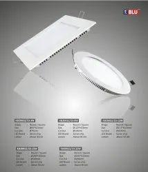 KBLU Aluminum 8W Round Panel Light, IP Rating: IP55 and IP66