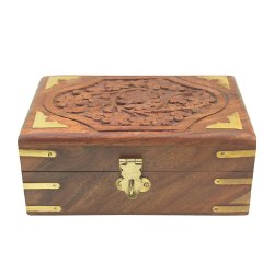 Shisam Wood Jewellery Box