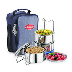Fortune 3 Stainless Steel Insulated Tiffins