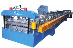 Silo Corrugated Color Coated Steel Sheet Forming Machine