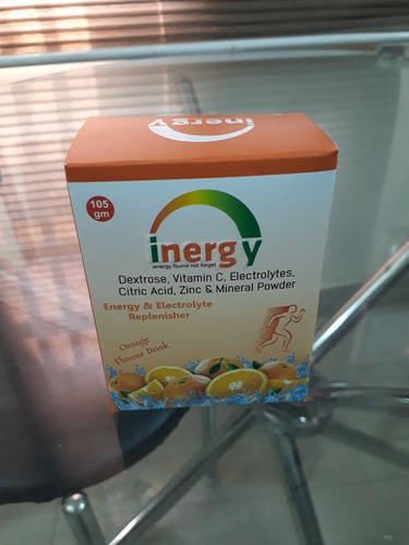 Inergy Dextrose Vitamin C Electrolytes Citric Acid Zinc With Mineral Energy Drink 105gm