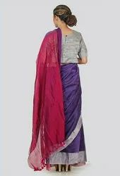 Party Wear Pink RB20 Handwoven Silk Zari Saree