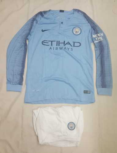 buy popular ce7e9 1a4be Manchester City Home Kit Full Sleeves