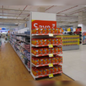 Doublesided Supermarket Gondola Shelving
