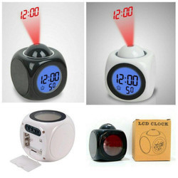Talk Projection Alarm Clock