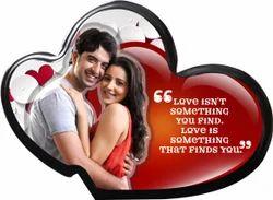 MDF Heart A Photo Plaque