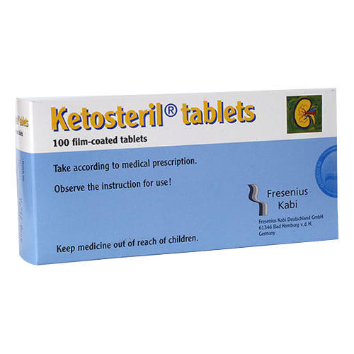 Life Saving Medicine Ketosteril Tablet Manufacturer From