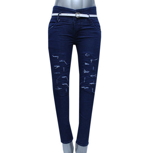 6a31eb61af6b42 Blue Slim Stylish Ladies Jeans, Rs 270 /piece, Nice Cloth House | ID ...