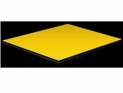 Traffic Yellow Aluminium Composite Panel (ER 131)