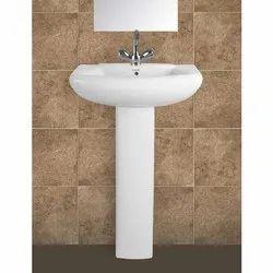 Alpine Pedestal Wash Basin