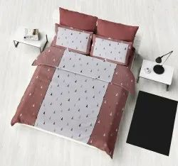 New Design Printed Double Bed Sheet