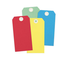 Heavy Duty Rectangular Plastic Tags