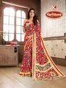 Printed Silk Chiffon Saree - Samriddhi