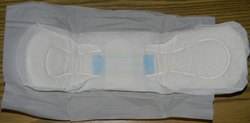 Air Laid Gel Protection Sanitary Napkin