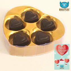 5 Piece Bogatchi Chocolate Hearts
