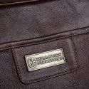 Hammonds Flycatcher Original Bombay Brown Leather 15.6 inch Laptop Messenger Bag