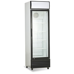 Vertical Glass Single Door Display Freezer