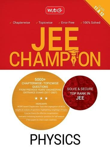 Physics Champion For Jee Book