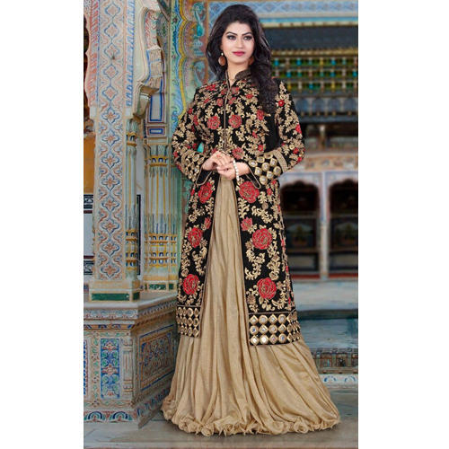 d105d3cd5e00 Georgette Party Wear Design Long Dress