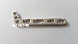 Locking Dorsal Distal Radius L-Plate Head 3 Holes Angle 20 Deg. 2.7mm Orthopedic Locking Implant